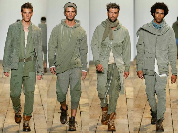 männermode trends 2016 casual military style herrenmode frühling sommer kollektion greg lauren