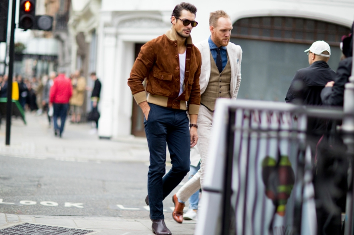 männermode trends 2016 casual street style herrenmode london frühling