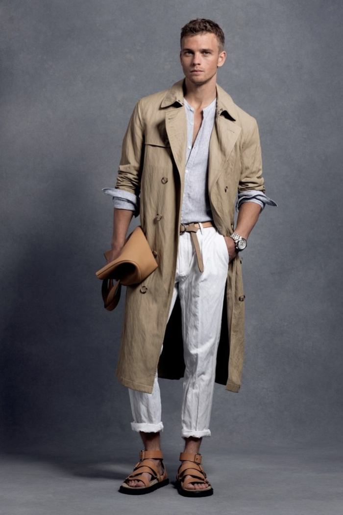 Fashion Trends For Men  Rain Coat