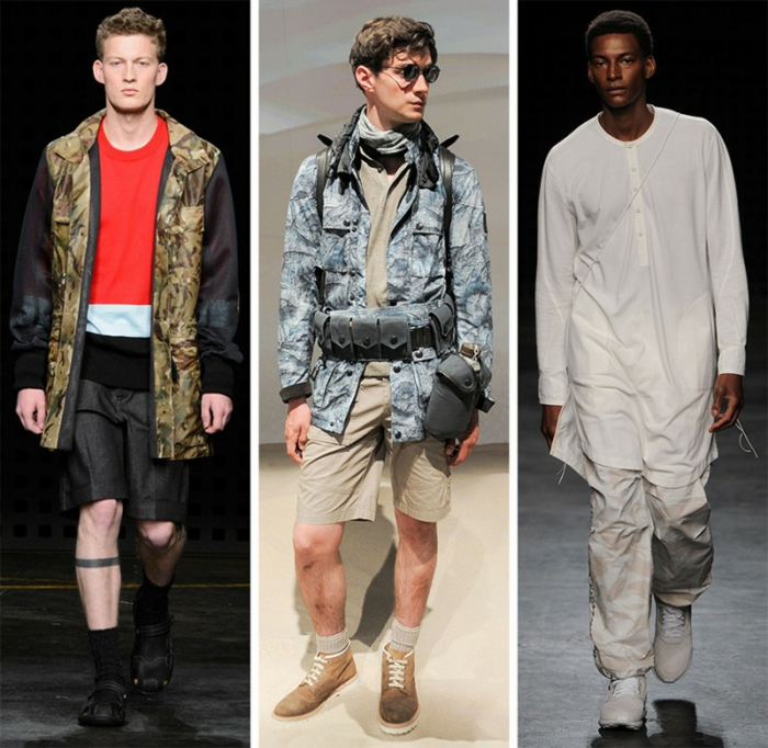 männermode trends 2016 elegante hosen casual mode urban style military london kollektion