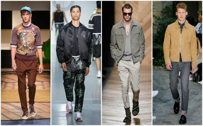 männermode trends 2016 jeans sakko jacken sportlich casual mode