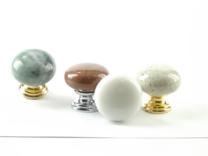 möbelknöpfe schubladengriffe möbelgriff edelsteine porzellan glanz rundes design bricca.es