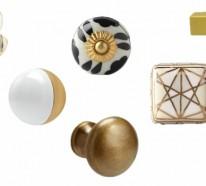 33 Möbelknöpfe Ideen aus Porzellan, Keramik und feinem Glas