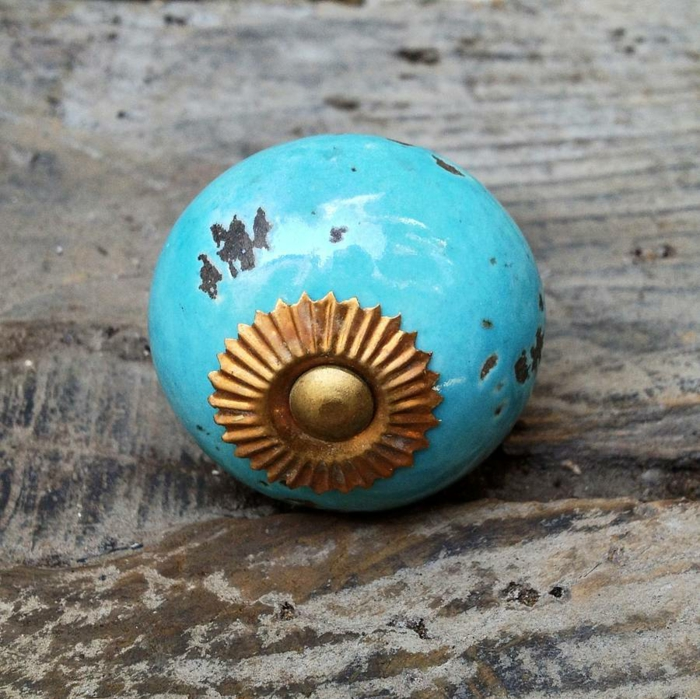 möbelknöpfe porzellan schubladengriffe möbelgriff schrankknoepfe vintage stil türkis blau notonthehighstreet