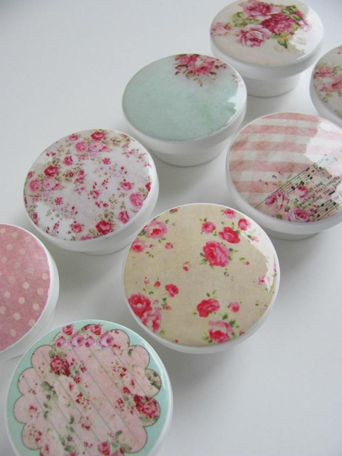 möbelkknopf porzellan schubladengriffe möbelgriff shabby chic motive keramik rosen vintage