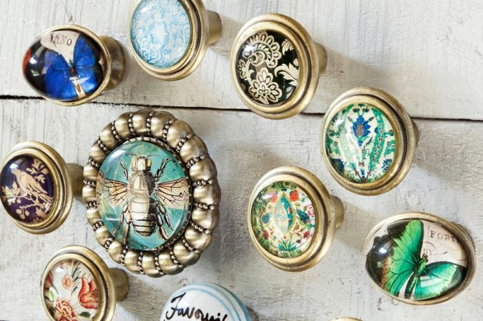 möbelknöpfe porzellan schubladengriffe schrankknopf möbelgriffe glas vintage motive