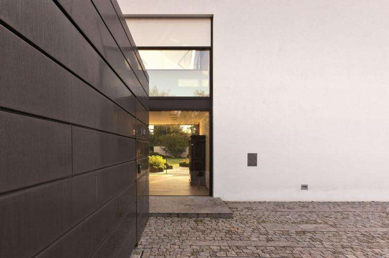 moderne Architektur München Architektenhaus L Stephan Maria Lang Innenhof