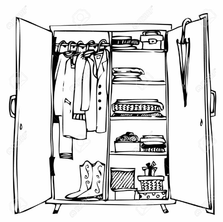 moderne Garderoben Kleiderschrank Ordnung