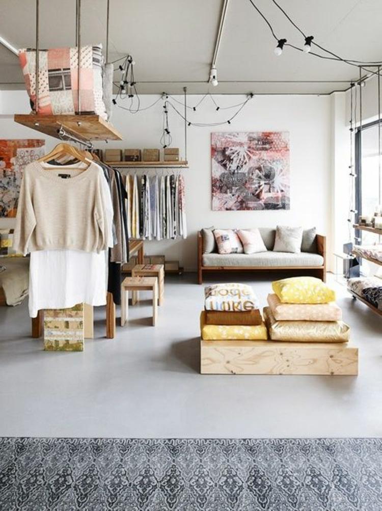 moderne Garderoben Wohnzimmer Eininrichtung Kleiderschranksysteme