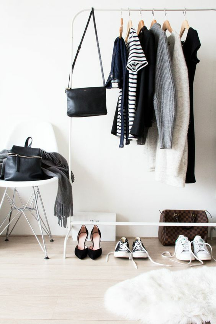 moderne Garderoben basic Damenmode Flurgarderobe