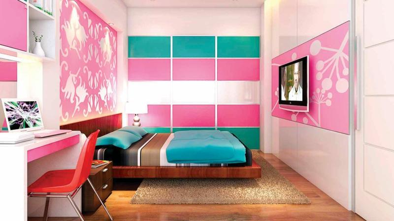 moderne Jugendzimmer Ideen Jugendzimmermöbel Mädchen