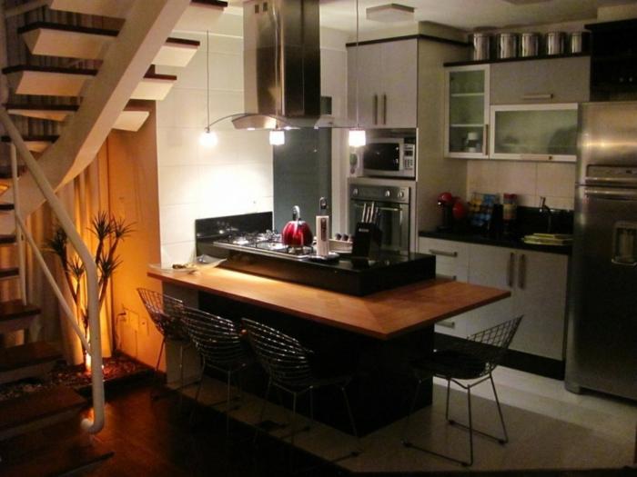 offene Küche Ideen Küchenbilder Küchen mit offenem Grudriss