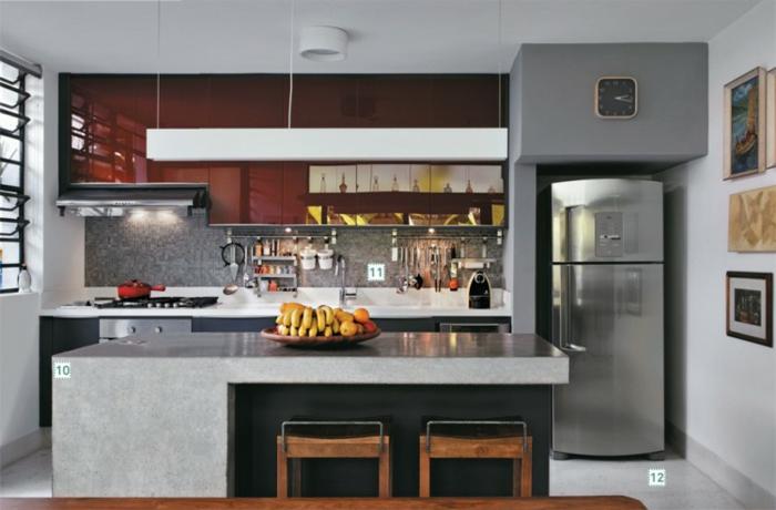 einrichtungsbeispiele wohnzimmer offener küche:Offene Küche Ideen: So richten Sie eine moderne Küche ein