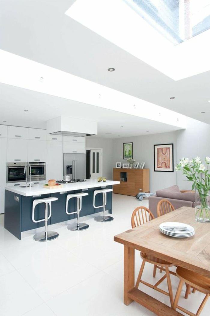 Offene Küche Ideen Küchenbilder Kücheninsel Und Esstisch