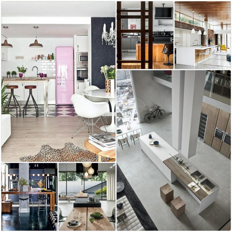 offenes wohnzimmer ideen:offene küche wohnzimmer bilder : Offene Küche Ideen So können Sie