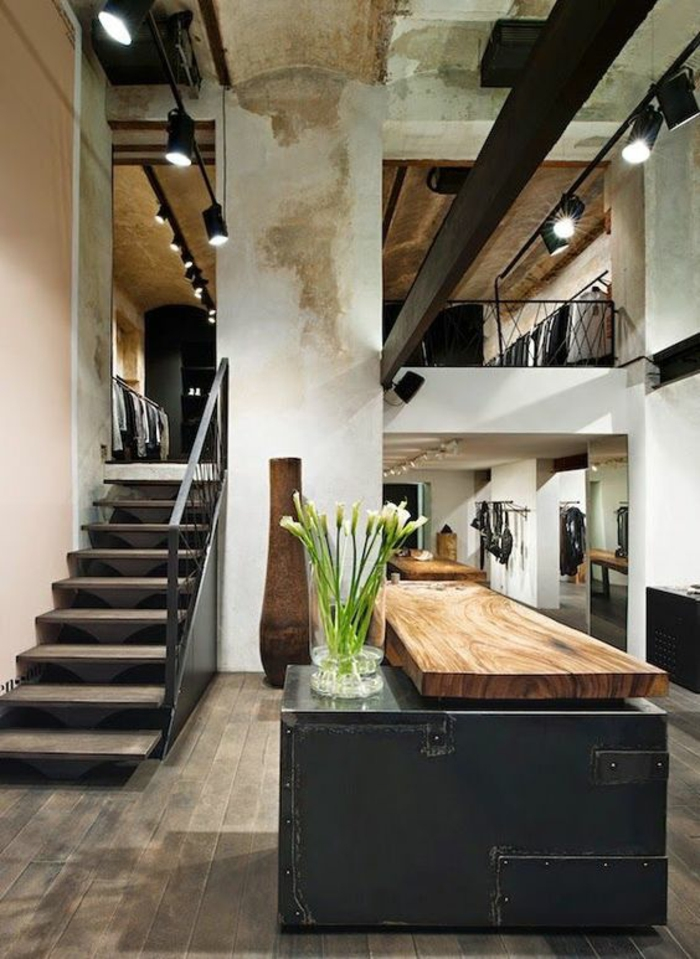 Offene k che ideen so richten sie eine moderne k che ein Industrial home plans
