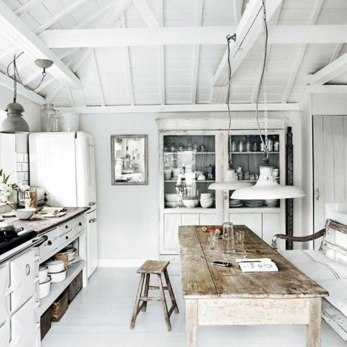 offene Küche Ideen Küchenbilder im rustikalen Stil