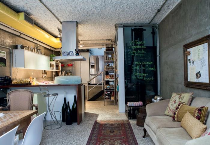 offene Küche Ideen Küchenbilder offener Wohnplan