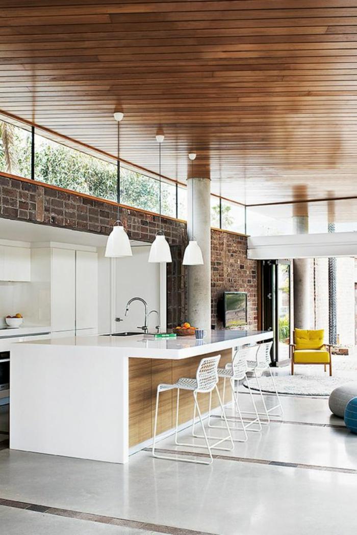 offene Küchen Küchengestaltung inspirierende Küchenideen