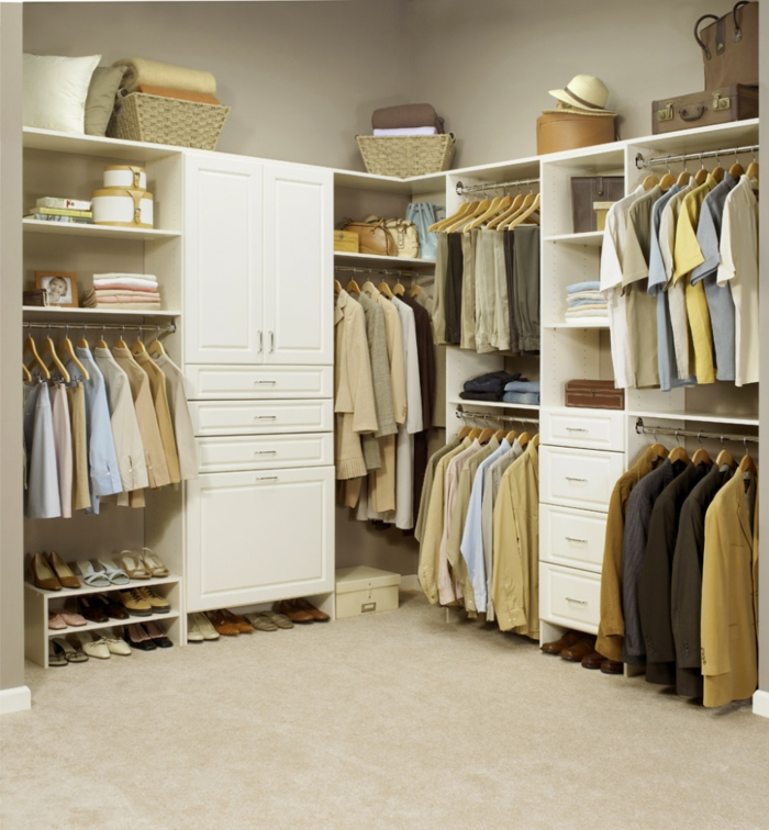 Ausgezeichnet Schlafzimmer Ohne Kleiderschrank Kleine: Offener Kleiderschrank