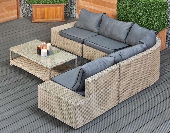 35 rattan sofa garten rattan sofas sind perfekt f r ihre. Black Bedroom Furniture Sets. Home Design Ideas