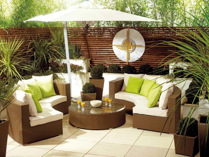 Gartensofas  35 Rattan Sofa Garten - Rattan Sofas sind perfekt für Ihre Gartenoase!