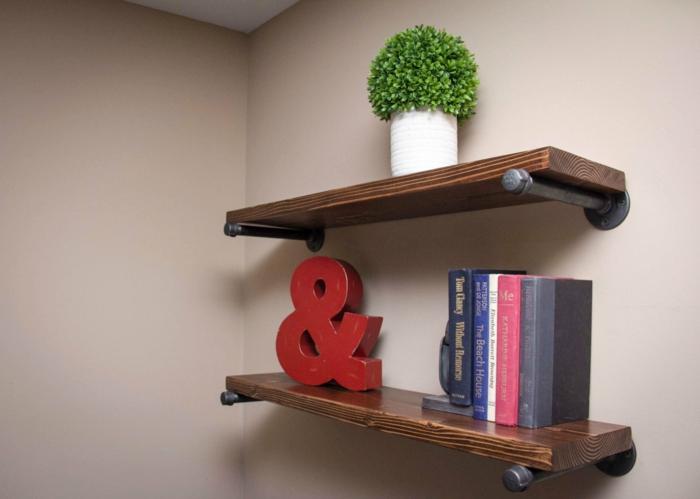 Bücherregal kreativ  ▷ 1001+ Ideen für Regal selber bauen - Freshideen