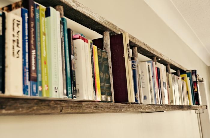 Bücherregal wand selber bauen  ▷ 1001+ Ideen für Regal selber bauen - Freshideen