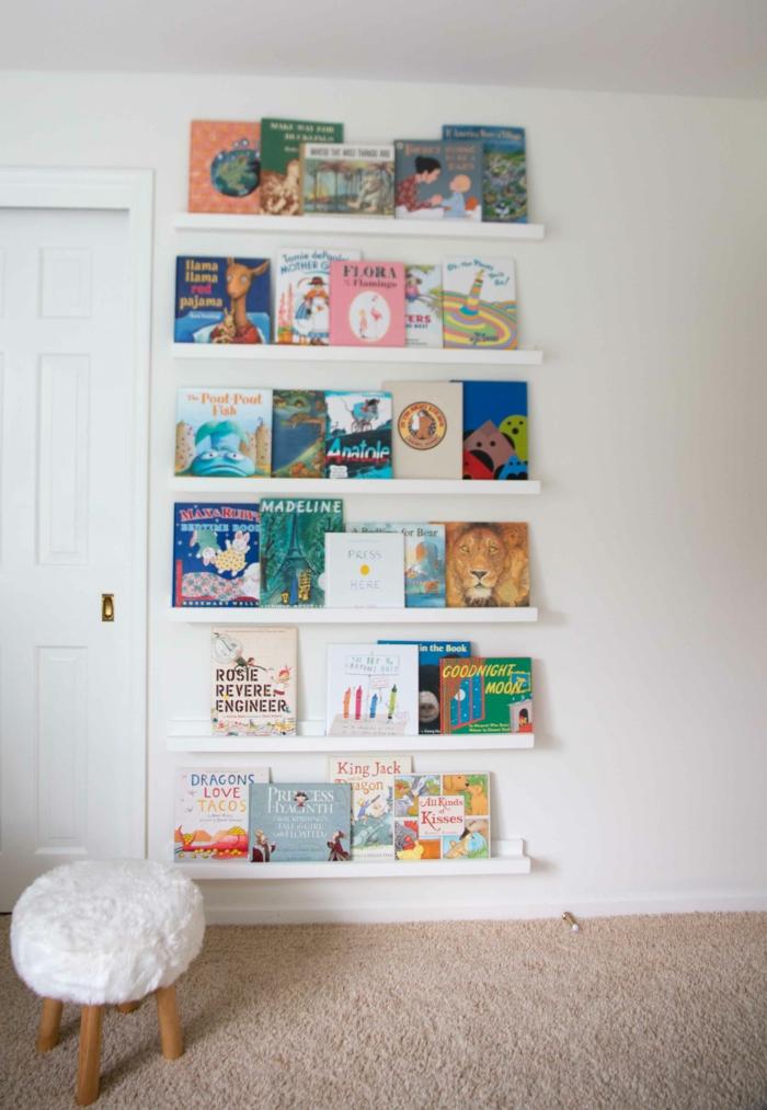 Kinderzimmer selber bauen  ▷ 1001+ Ideen für Regal selber bauen - Freshideen