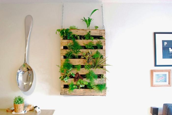 Regal selber bauen kreativ  Holz Teppich Küche