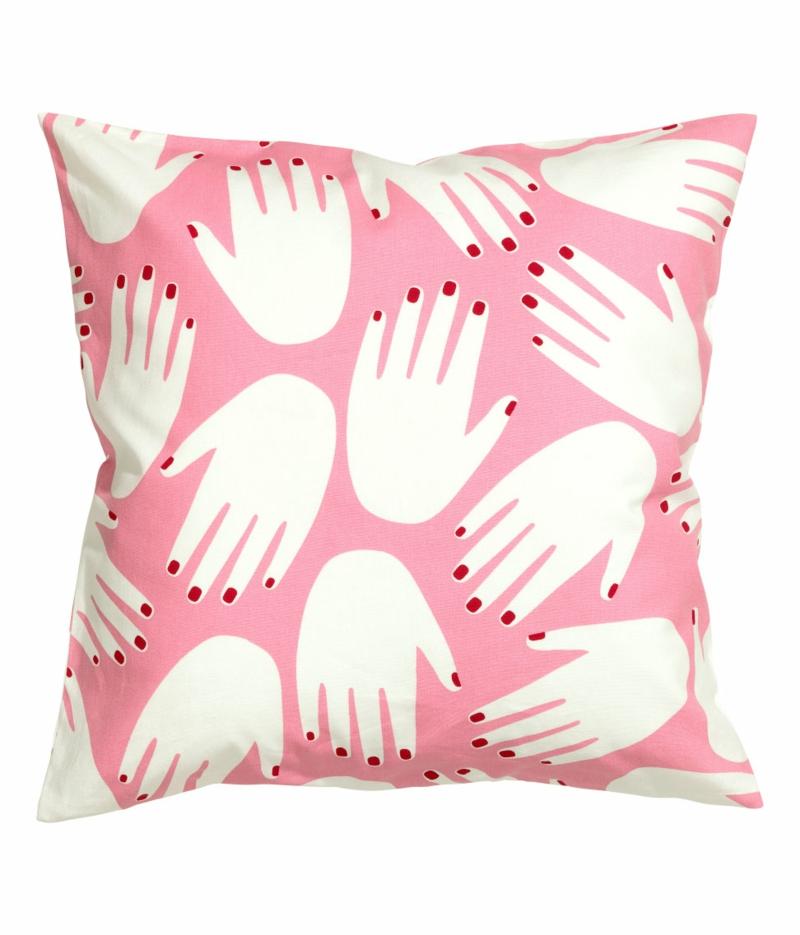 dekoartikel f rs schlafzimmer in rosa und silber von h m home fresh ideen f r das interieur. Black Bedroom Furniture Sets. Home Design Ideas