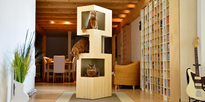 katzenbaum katzenturm ergonomische katzenmöbel