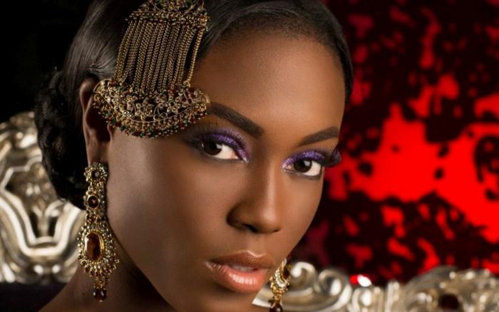 schminktipps für braune augen farbpalette afrikanerin
