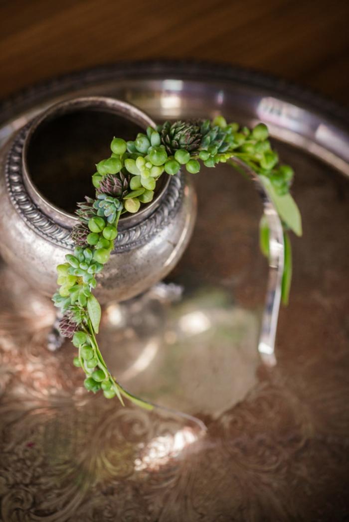 schmuckdesign echte pflanzen die noch wachsen in szene