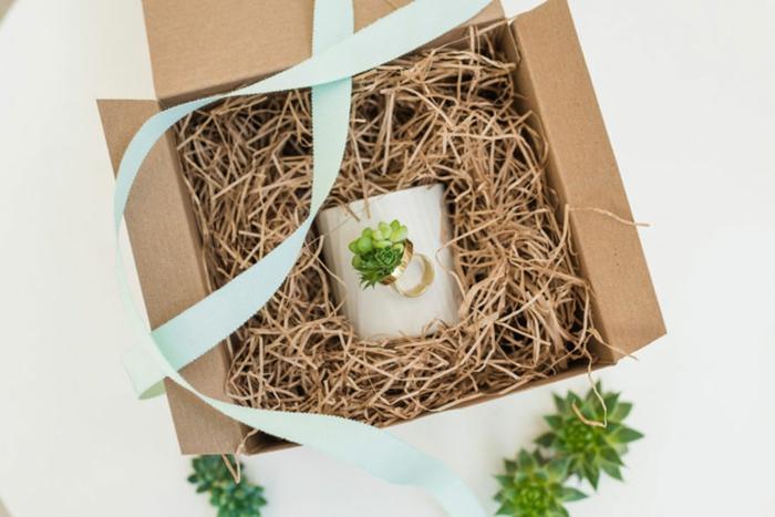 schmuck design echte pflanzen die noch wachsen verpackungsvorschlag