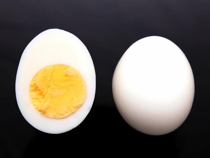 schnelles essen schnelles gesundes essen ei gekochtes