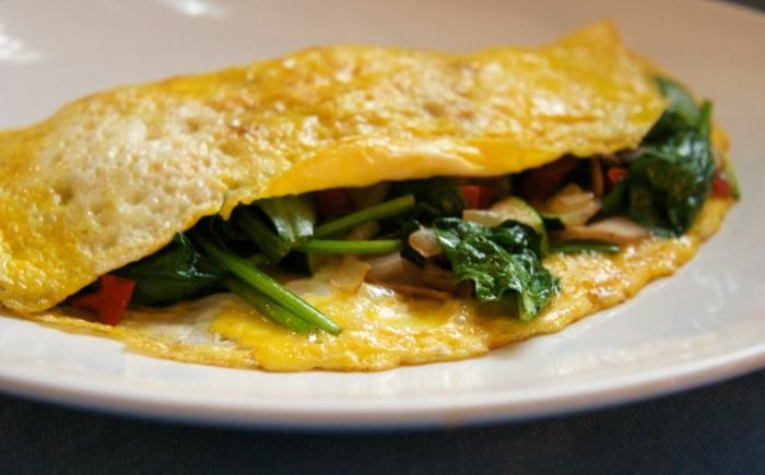 schnelles essen schnelles gesundes essen ei omelett