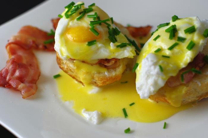 schnelles essen schnelles gesundes essen ei speck