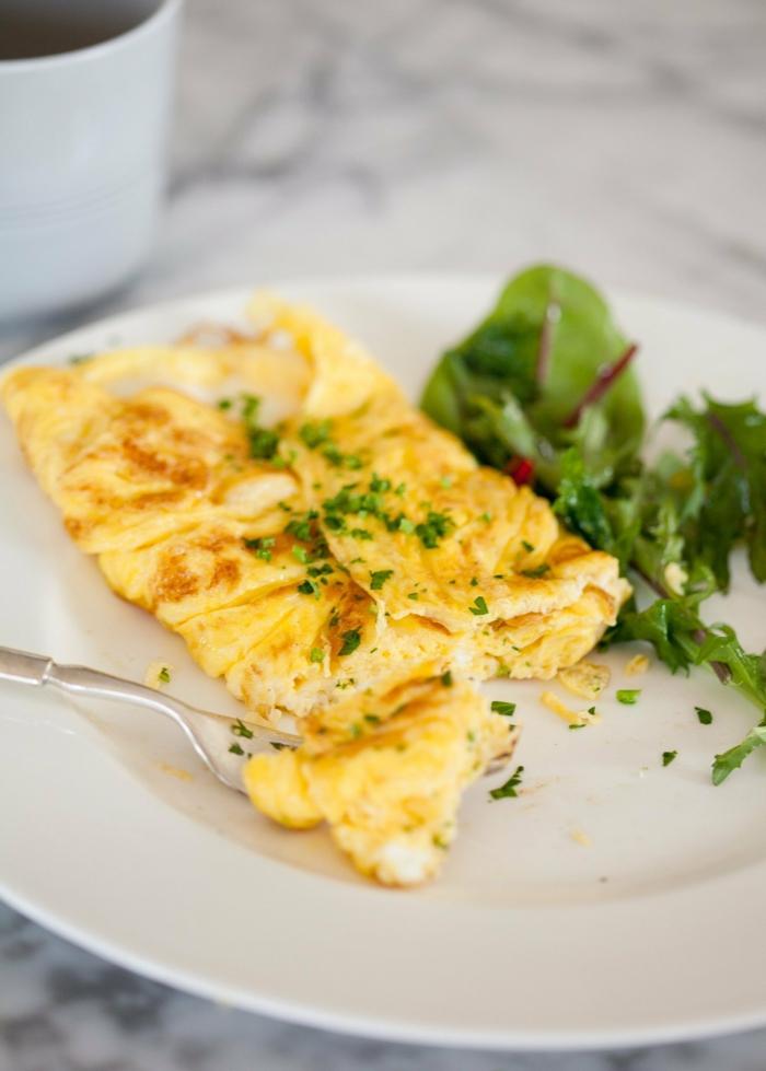 schnelles essen schnelles gesunde essen ei top teller