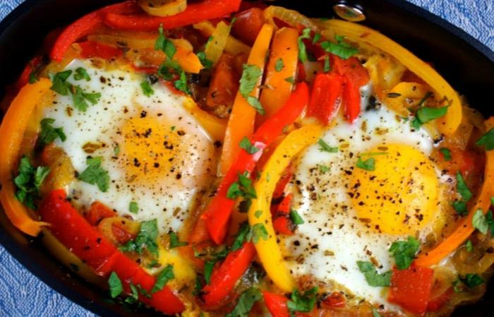 schnelles essen schnelles gesundes essen shakshuka nah