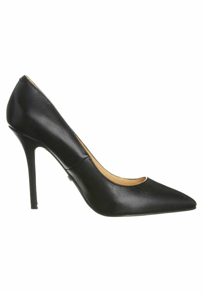 schwarze pumps weiße pumps goldene pumps klassik eleganz