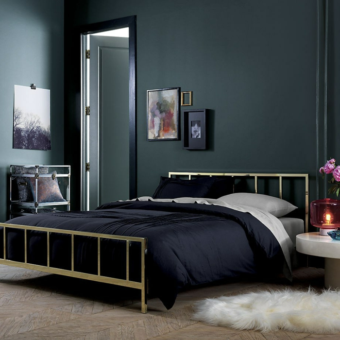 wandfarbe schwarz 59 beispiele f r gelungene innendesigns fresh ideen f r das interieur. Black Bedroom Furniture Sets. Home Design Ideas