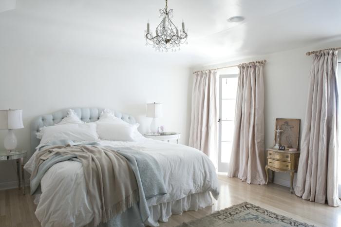shabby chic kommode romantisches schlafzimmer altgold anrichte barockstil