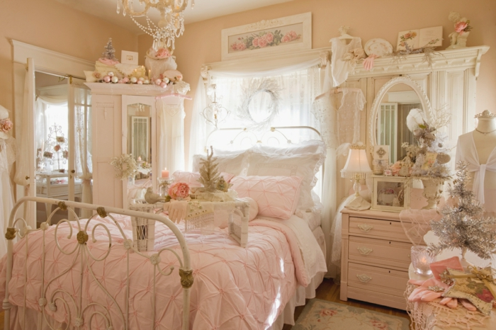 Shabby chic kommode 39 inspirationen f r mehr for Chambre ado romantique