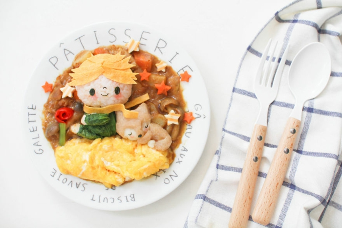 snack ideen der kleine prinz fuchs curry reis