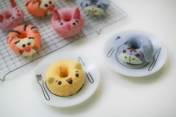 snack ideen rezept donuts pooh bär tiger