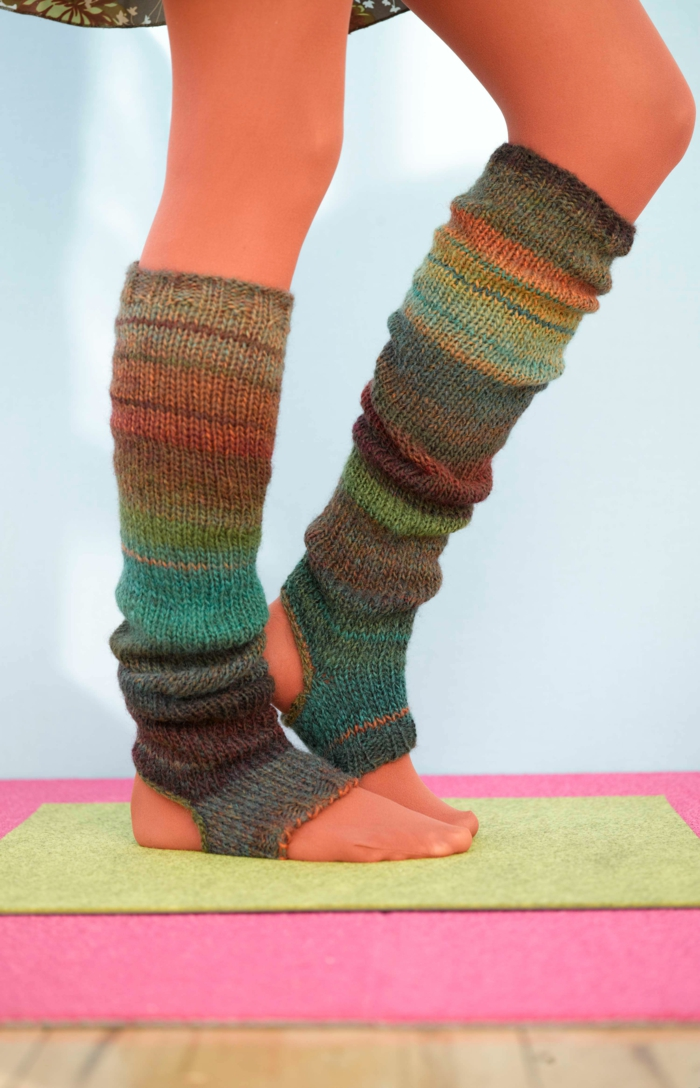 Knitting Pattern For Yoga Socks : Socken stricken- 42 inspirative Beispiele fur begeisterte ...