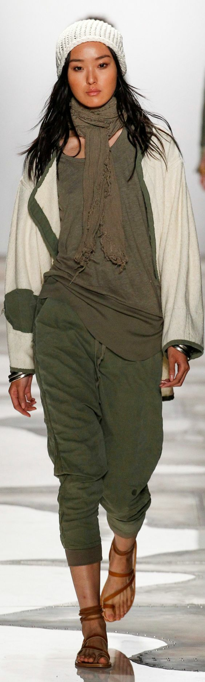sommermode frauenmode damen greg lauren 2016 military casual stil ready towear