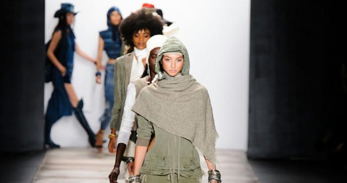frauenmode damen greg lauren 2016 new york fashion week