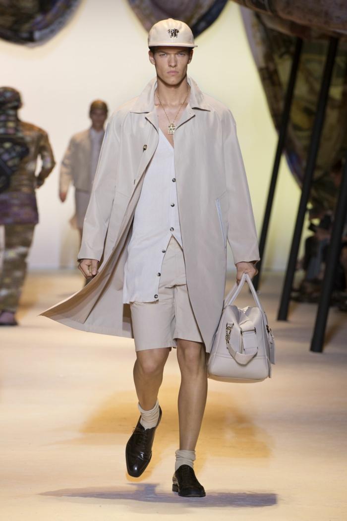 sommeroutfits versace 2016 sommermode herrenmode männermode menswear